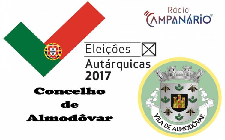 Autárquicas 2017: Os resultados eleitorais do concelho de Almodôvar (c/dados)