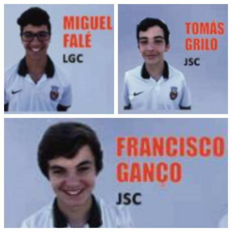 3 atletas alentejanos convocados para a Seleção Nacional de sub-14