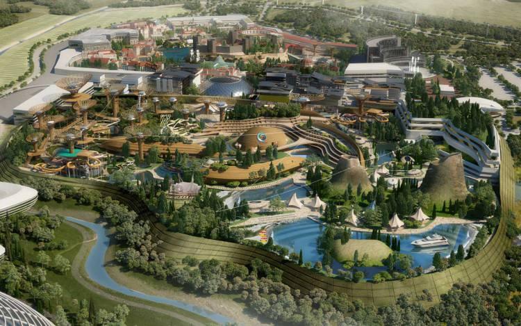 Badajoz terá parque temático ao nível da Disneyland em projeto da maior cidade sustentável da Europa num investimento de 3.500 milhões de euros