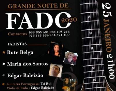 Santa Vitória do Ameixial recebe noite de fados no próximo sábado