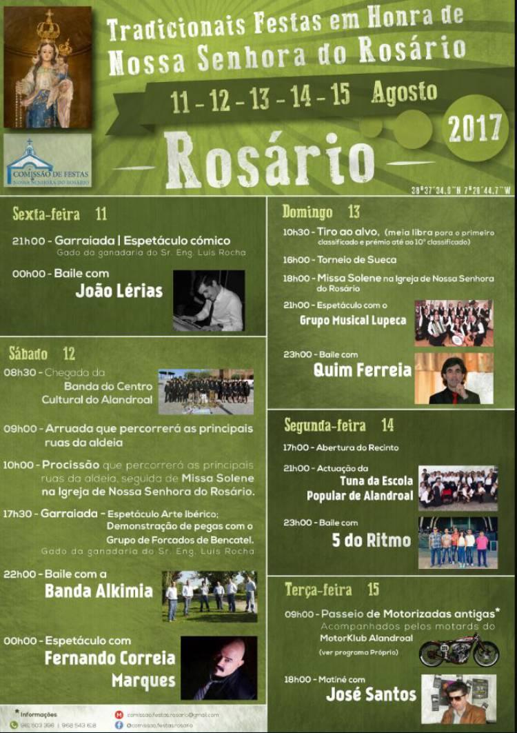 Rosário (Alandroal) estará este fim-de-semana em festa