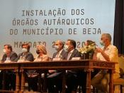 Instalação dos órgãos autárquicos do Município de Beja já decorreu. CCDR Alentejo marcou presença!(c/fotos)