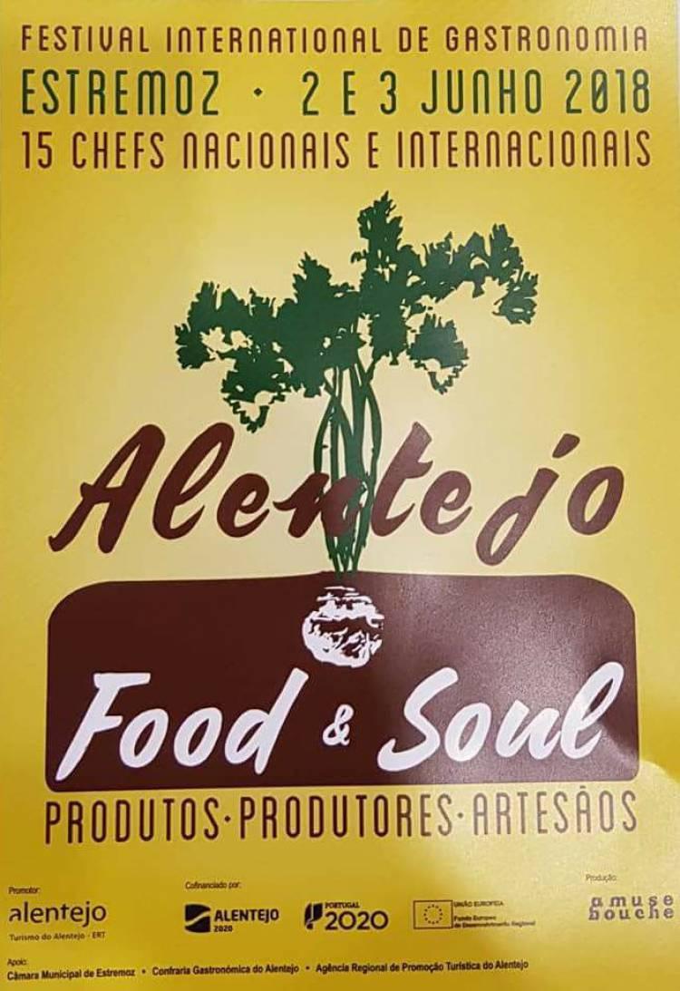 Festival Internacional «Alentejo Food&Soul» regressa a Estremoz em junho