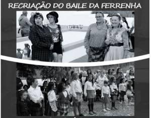 Recriação do Baile da Fonte Ferrenha, no próximo sábado 28 setembro