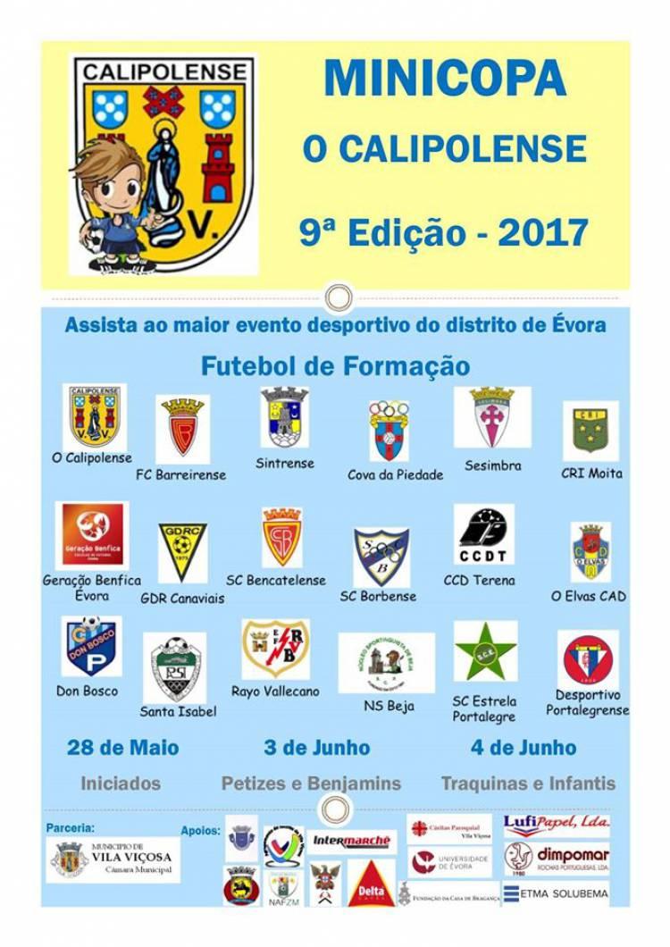 """Vila Viçosa volta a receber a """"Mini-Copa Calipolense"""""""