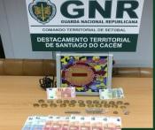 GNR de Santiago do Cacém fiscalizou 11 estabelecimentos e elaborou 27 autos e 1 detenção