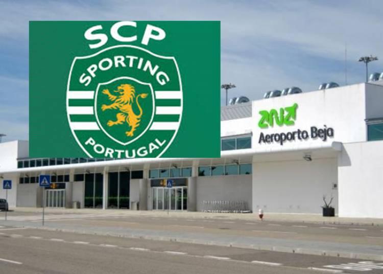 Sporting Clube de Portugal irá aterrar no aeroporto de Beja