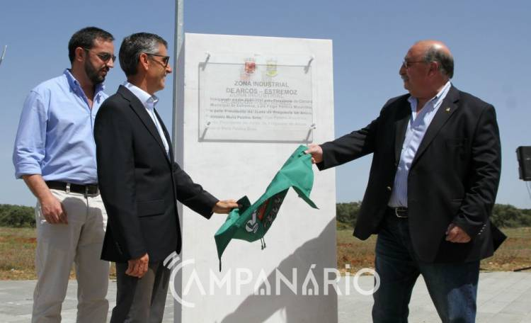 """Parque Industrial de Arcos foi inaugurado, após 20 anos de projeção com """"muitas dificuldades"""", diz Presidente de Estremoz (c/som e fotos)"""