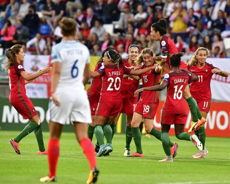 Alentejana voltou a marcar, mas não foi suficiente para o apuramento da Seleção feminina