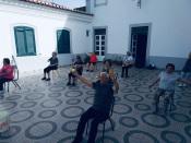 Alunos da Universidade Sénior de Borba voltam a ter aulas ao ar livre