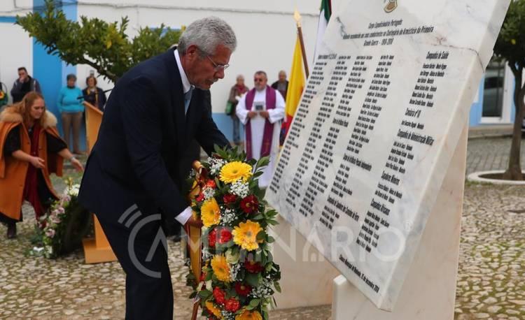 """Redondo presta homenagem """"a todos aqueles que estiveram numa das piores guerras da nossa Humanidade"""", sublinha António Recto (c/som e fotos)"""