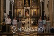 """""""É com muita satisfação e alegria que depois de dois meses e meio regressamos à Eucaristia"""" diz Bernardo Baraona (c/som)"""