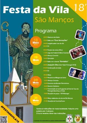 Festas da Vila de São Manços já decorrem
