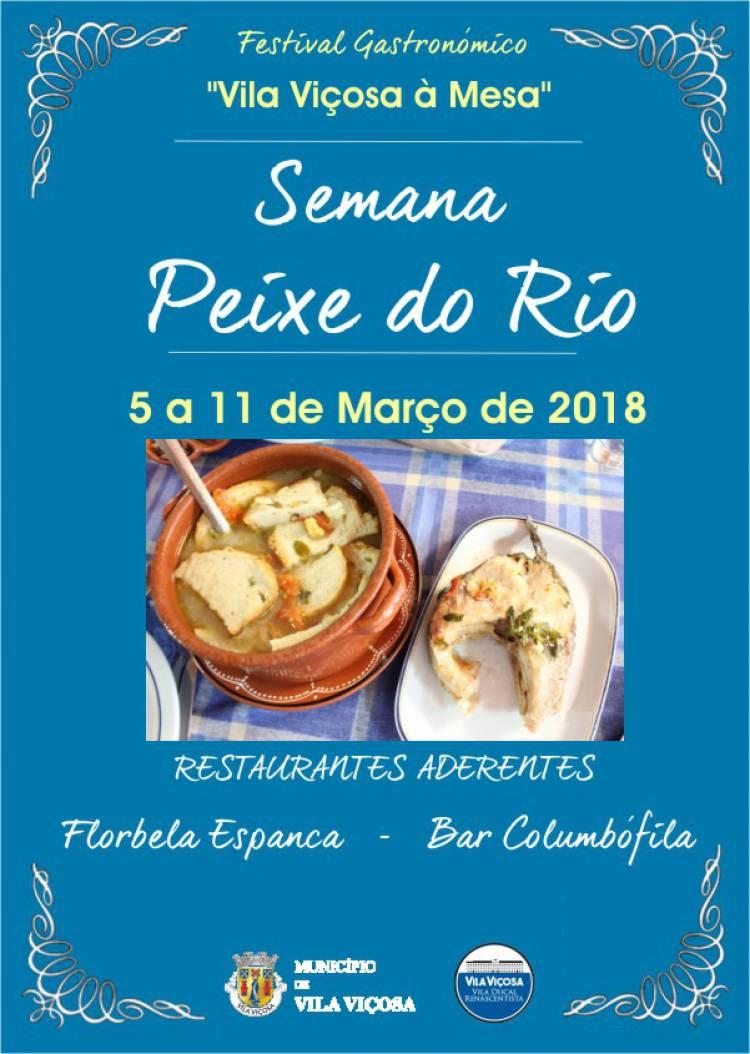"""Peixe do rio em destaque no Festival Gastronómico """"Vila Viçosa à Mesa"""""""