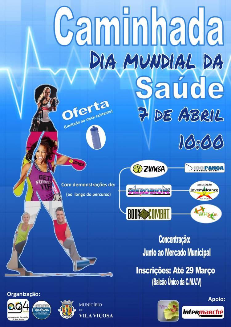Vila Viçosa recebe caminhada no Dia Mundial da Saúde