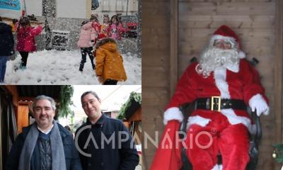 O Pai Natal chegou a Alandroal e trouxe neve, boa disposição e a magia do Natal (c/som e fotos)