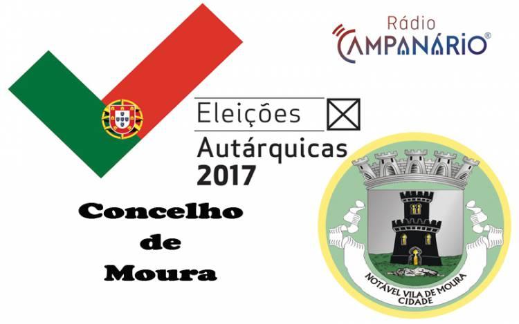 Autárquicas 2017: Os resultados eleitorais do concelho de Moura(c/dados)