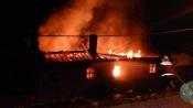 Sousel: Oficina de Santo Amaro destruída pelas chamas
