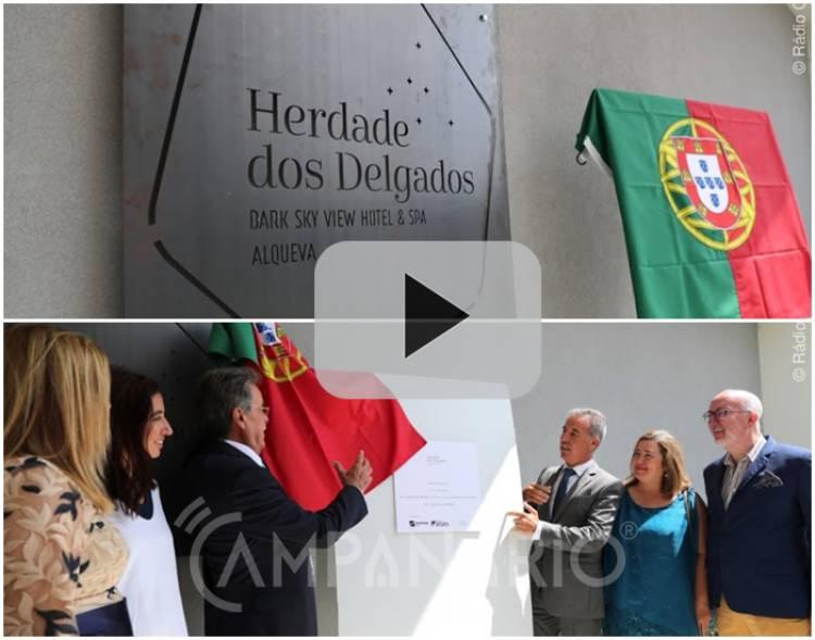 Veja em vídeo a cerimónia de inauguração da Herdade dos Delgados | Dark Sky View Hotel & Spa, Alqueva em Mourão