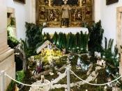 Visite um dos mais belos presépios tradicionais na Igreja de São Bartolomeu em Vila Viçosa.