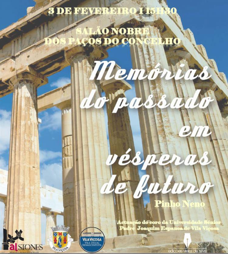 Pinho Neno apresenta livro em Vila Viçosa, este domingo