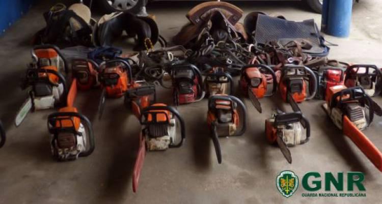 GNR detém suspeito de recetação de material furtado no Alentejo Litoral