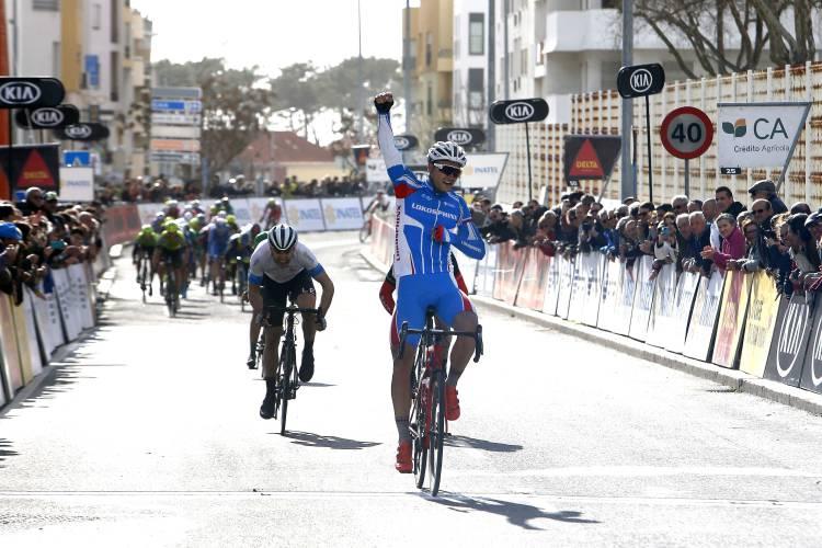 Dimitri Strakhov venceu a segunda etapa da Volta ao Alentejo em Bicicleta (c/som)