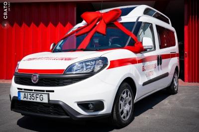 Bombeiros Voluntários do Crato recebem nova ambulância