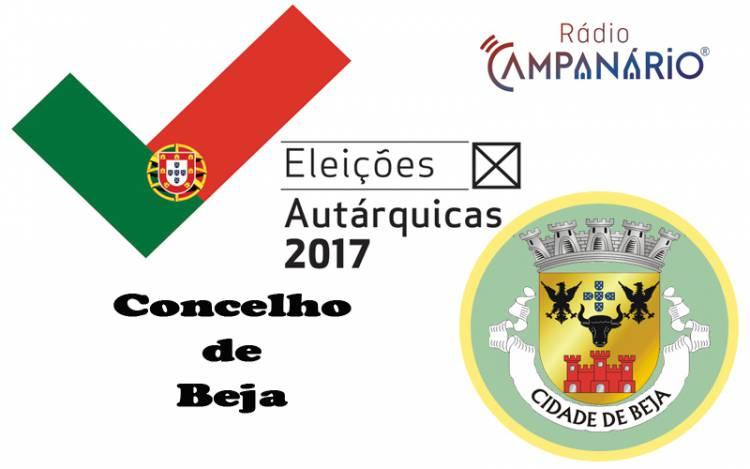 Autárquicas 2017: Os resultados eleitorais do concelho de Beja(c/dados)