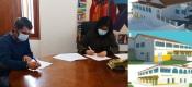 CM de Portalegre assina auto de consignação para Centro de Interpretação do complexo turístico da Qta da Saúde