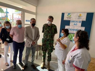 Coordenador da task force visitou Centro de Vacinação de Alcácer do Sal (c/fotos)