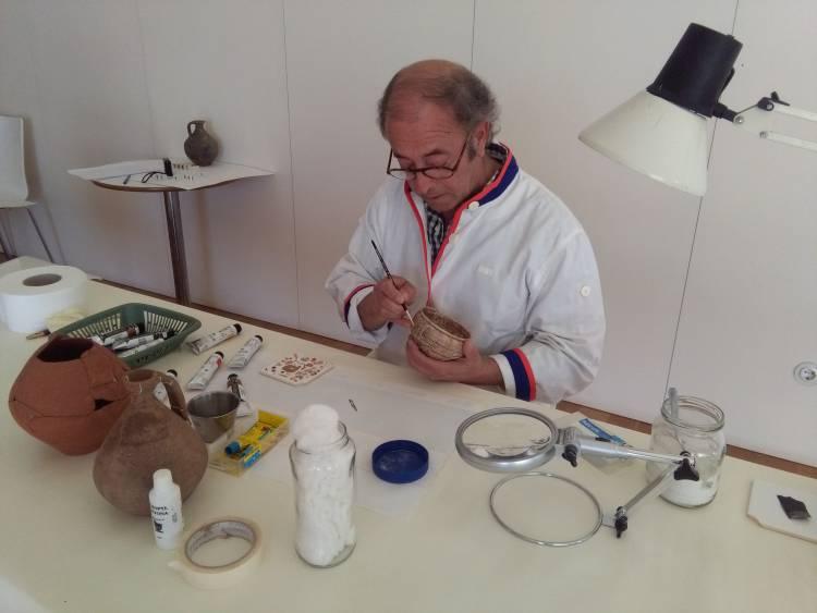 Elvas restaura peças para novo Museu de Arqueologia e Etnografia António Tomás Pires
