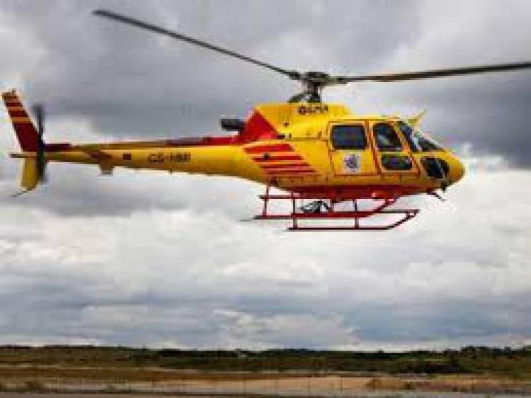 Évora volta a ter helicóptero de combate a incêndios depois de incidente com paraquedista