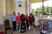 Artesã elvense entregou ao Museu peça da sua autoria em agradecimento ao Senhor Jesus da Piedade e em forma de homenagem aos profissionais da saúde