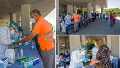 COVID-19: Mais de 450 testes serológicos realizados em Moura
