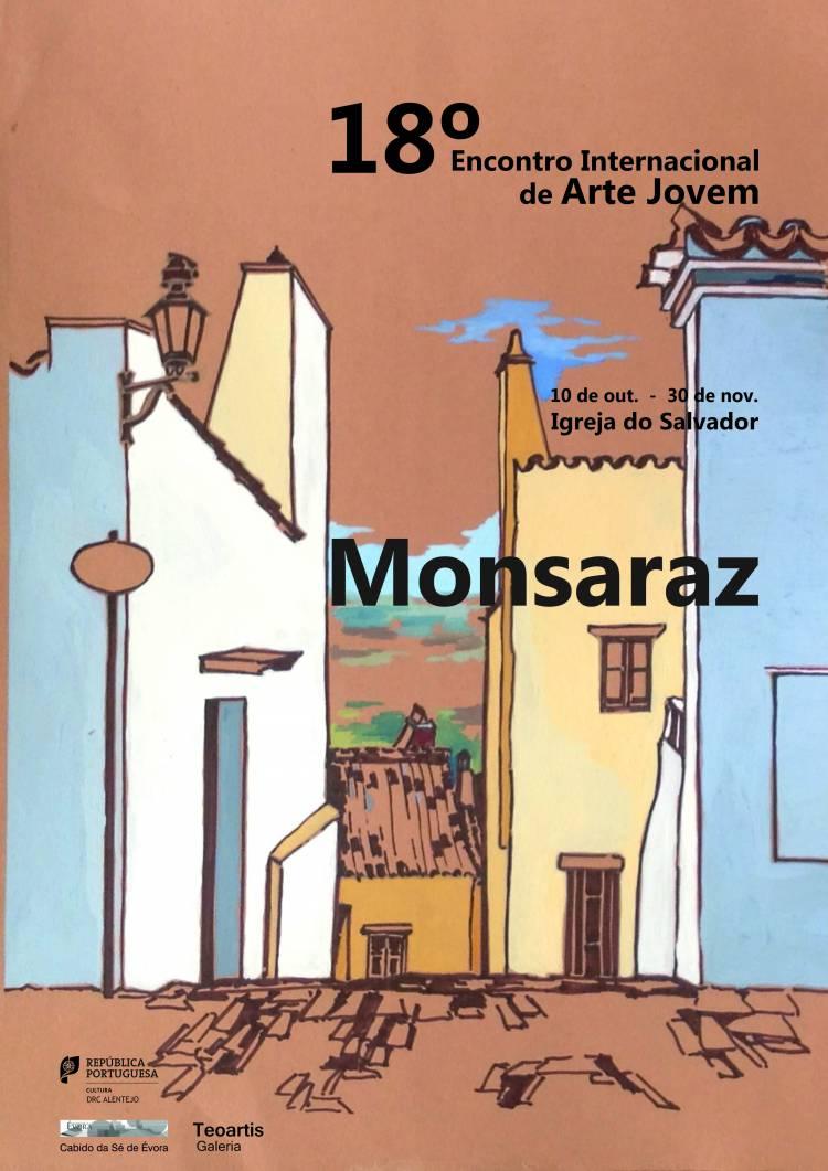 """Exposição """"MONSARAZ"""" integra 18.º Encontro Internacional de Arte Jovem"""