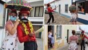 Freguesia do Torrão, em Alcácer do Sal, levou animação até casa das crianças