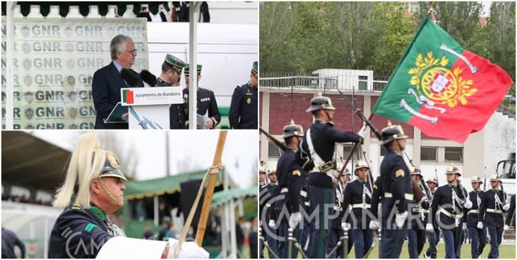 """Eduardo Cabrita afirma """"o rejuvenescimento e reforço da GNR"""" no compromisso de honra de 195 novos guardas. A RC mostra-lhe as fotos (c/som)"""