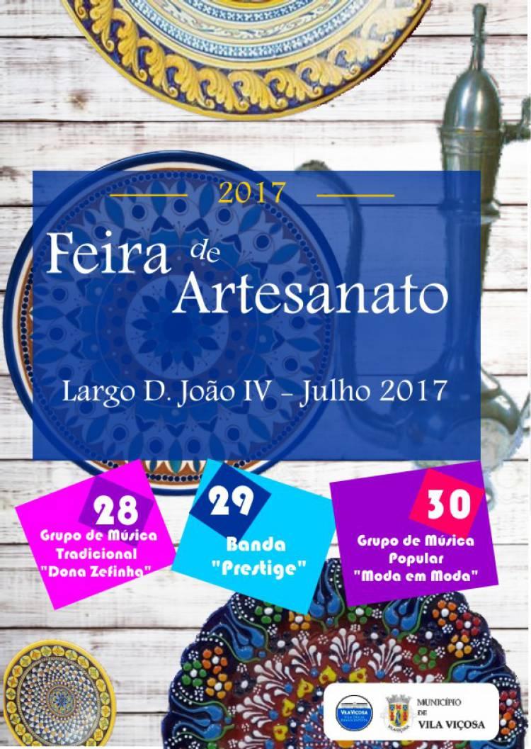 """Vila Viçosa terá """"Noites de Verão e Feira do Artesanato"""" no próximo fim de semana"""