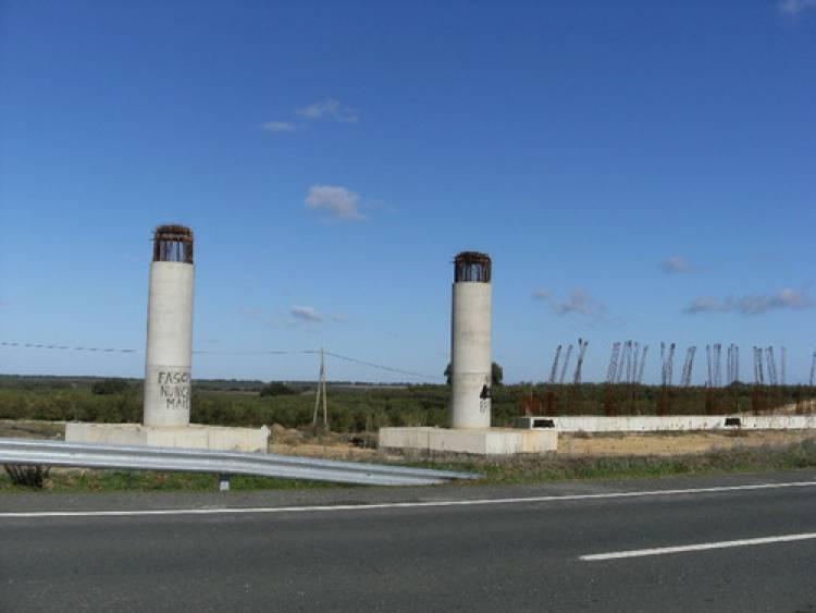 Obra da portagem da A26 em Ferreira do Alentejo deverá começar até 14 de março