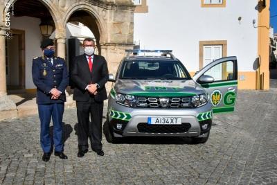 Crato - Município doa veículo à GNR e assina Protocolo (C/ Fotos)