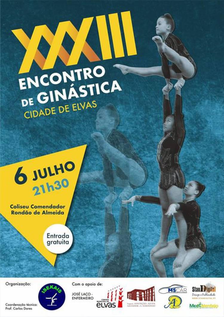 Elvas recebe 33º encontro de Ginástica a 6 de julho