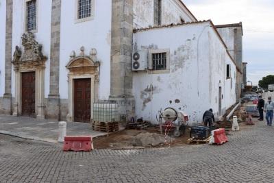 Elvas: Obra de requalificação do Largo de São Domingos já arrancou