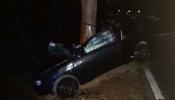 Beja: Jovem de 21 anos gravemente ferido após despiste seguido de colisão com árvore