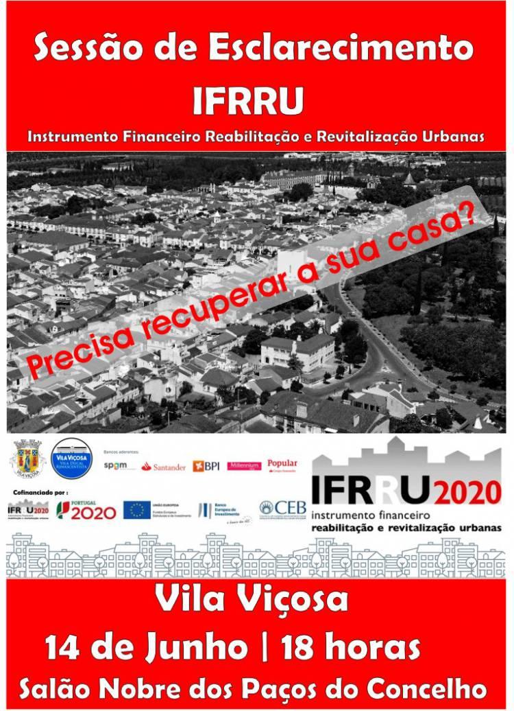 Autarquia de Vila Viçosa promove sessão de esclarecimento sobre IFRRU 2020