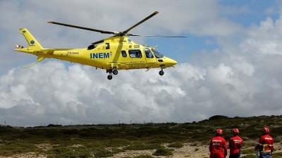 Almodôvar: Colisão na A2 provoca dois feridos! Helicóptero do INEM acionado para o socorro!