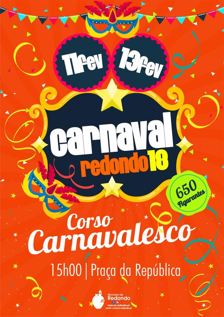 Redondo volta a festejar o Carnaval. Conheça as datas