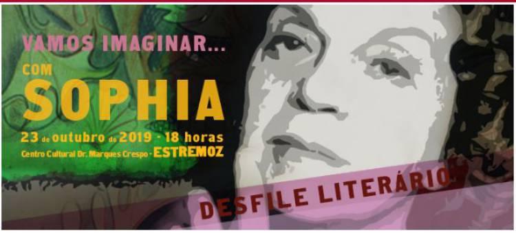 """Desfile Literário """"Vamos imaginar... com Sophia"""" em Estremoz"""