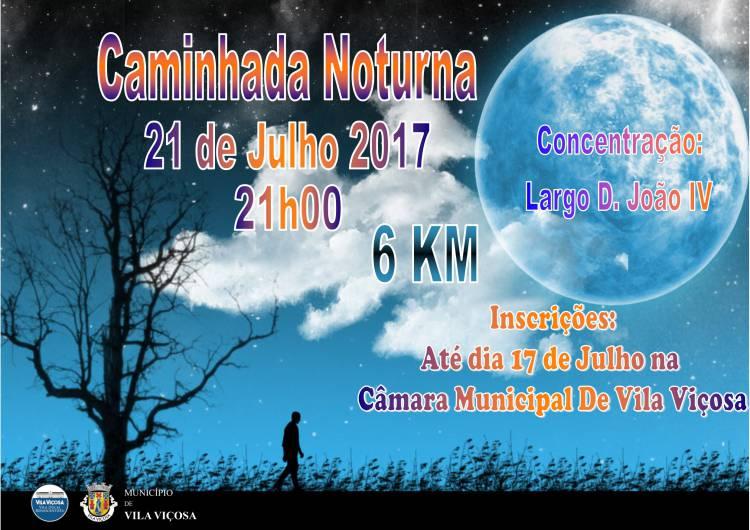 Vila Viçosa receberá mais uma caminhada noturna