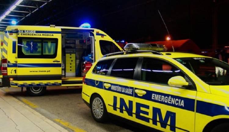 5 feridos após despiste perto de Vila Boim